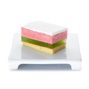 Lemon-basil raspberry dessert